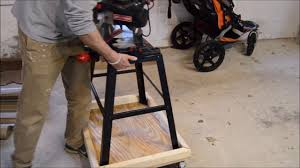 build a shop dolly or saw cart youtube
