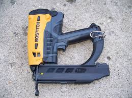 Bosch Roofing Nail Gun by Stanley Bostitch Brad Nailer Gbt 1850k Review Tools In Action