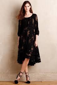 maeve clothing lyst maeve iniga swing dress in black