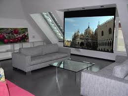 Schlafzimmer Im Dachgeschoss Einrichten Beamer Oder Fernseher Oder Beides