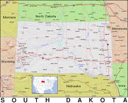 Map South Dakota Sd South Dakota Public Domain Maps By Pat The Free Open