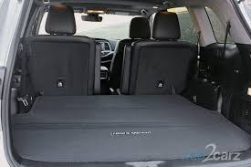 Toyota Highlander Interior Dimensions 2017 Toyota Highlander Limited Review Web2carz