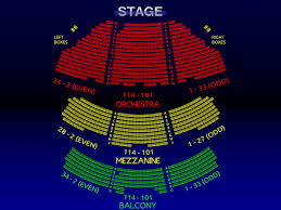 Red Rocks Seat Map Longacre Theatre 3 D Broadway Seating Chart History Info