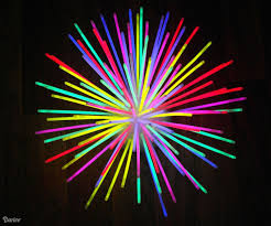 glow sticks in bulk diy glow stick centerpiece idea darice