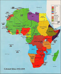 Imperialism Africa Map by Burgstromglobaltwo2 Licensed For Non Commercial Use Only Map