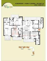 floor layout plans bestech park view spa next floor plan floorplan in