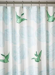 Shower Curtains Daydream Green Shower Curtain Hygge West