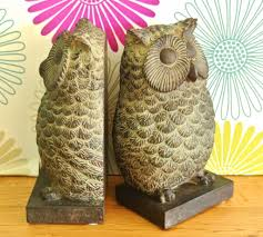 antique owl bookends unique owl bookends style u2013 home design by john