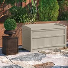 suncast deck box 134 gallon instadeck us