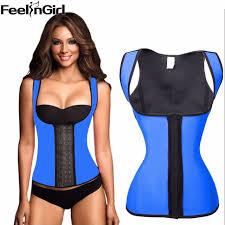 feelingirl 100 waist cincher steel bone corset waist