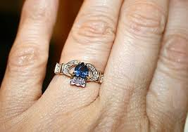 claddagh engagement ring claddagh engagement ring it came today weddingbee