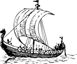 viking ship coloring page viking ship clip art at clker com vector clip art online