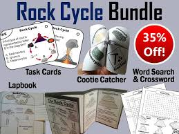 rock cycle crossword puzzle by sciencespot teaching resources tes