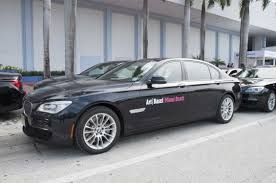 vip bmw bmw 7 series vehicles as the official vip shuttle service