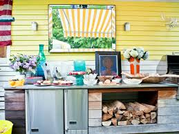Hgtv Home Design Store by 8 Designer Ways To Store Firewood Hgtv U0027s Decorating U0026 Design