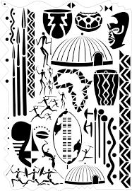 africa airbrushing art