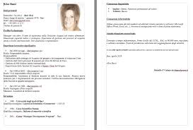 curriculum vitae pdf formato unico modelli curriculum vitae con esempi da scaricare e compilare