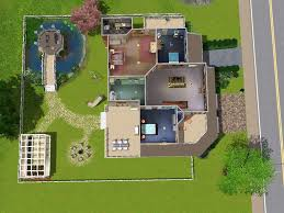mod the sims luxury home with gazebo greenhouse and underground advertisement