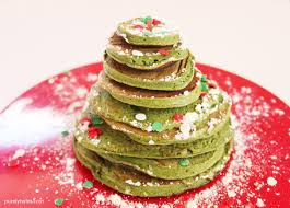 christmas tree pancakes for one gluten free grain free pancake