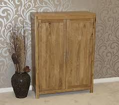Oak Shoe Storage Cabinet Rustic Oak Shoe Cupboard Shoe Storage Cabinet Amazon Co Uk
