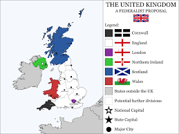 Wessex England Map by The United Kingdom A Federalist Proposal By Houseofhesse On