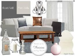 neutral u0026 feminine living room mood board sypsie designs