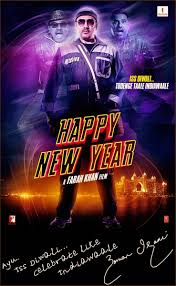 happy new years posters happy new year all posters starring srk paradize