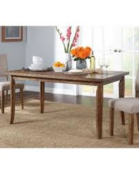 driftwood dining room table amazing deal on simple living provence dining table brown