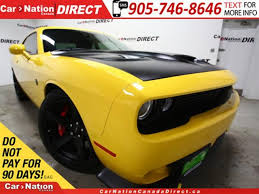 dodge challenger canada used 2017 dodge challenger srt hellcat 707 hp low km s sunroof