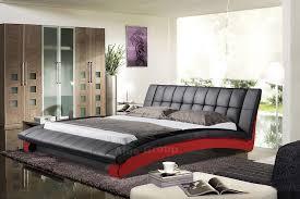 King Size Platform Bed King Size Platform Bedroom Sets Wave King Size Modern Design Black