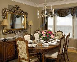 fancy dining room curtains in interior home design makeover with