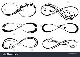 infinity love infinity love forever symbol stock vector 287278808 shutterstock