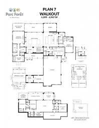 semi custom floor plans parc foret at montreux