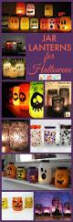 simple jar lanterns for halloween halloween crafts cheap