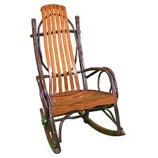 Rocking Chair Wooden Rocking Chair Timber Lodge Furniture