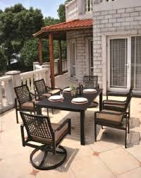 Aluminum Bar Height Patio Set  Smashingplatesus - Aluminum sling patio furniture