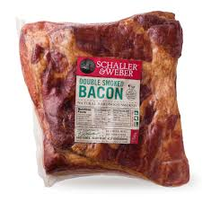double smoked bacon schaller u0026 weber