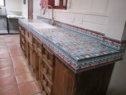 Mediterranean Tiles Kitchen - kitchen impressive rustic tile kitchen countertops rustic tile