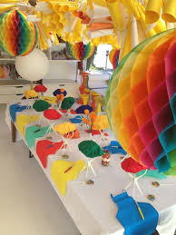 Rainbow Party Decorations 34 Best Crayola Crayon Rainbow Party Images On Pinterest Crayon
