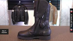 motorcycle touring boots sidi armada gore tex boots from motorcycle superstore com youtube
