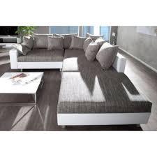 canap d angle blanc et gris d angle modulable loft blanc gris
