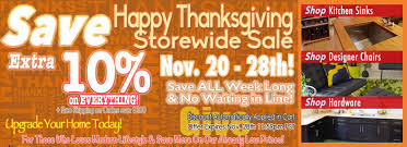 thanksgiving sale on home hardware from emoderndecor