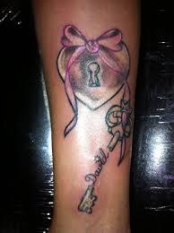 heart lock and key tattoo bff tattoo pinterest key tattoos