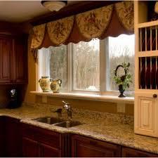 Large Kitchen Window Treatment Ideas Kitchen Kitchen Curtains Tiers And Valances 3 Kitchen Window
