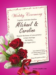 wedding invitations for friends free online wedding invitation cards festival around the world