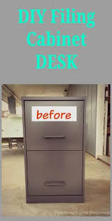 Alpha Steel Filing Cabinet Diy L Shaped Desk They Used Painted Old File Cabinets