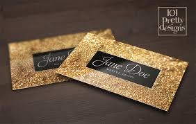 Makeup Artist Supply Gold Glitter Business Card Template Makeup Artist Business