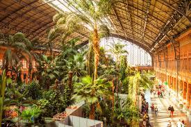 Botanical Garden Station by Best Railway Stations In Europe Atocha Station Copyright Yulia