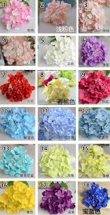 decorative flower hydrangea flower head for diy wedding wall flower bouquet wreath
