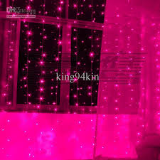 500 led lights 5m 3m curtain lights ornament light flash